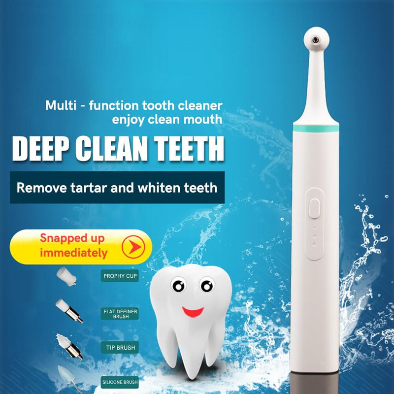 Multifunction Dental Stain Remover Whitening Tooth Polisher