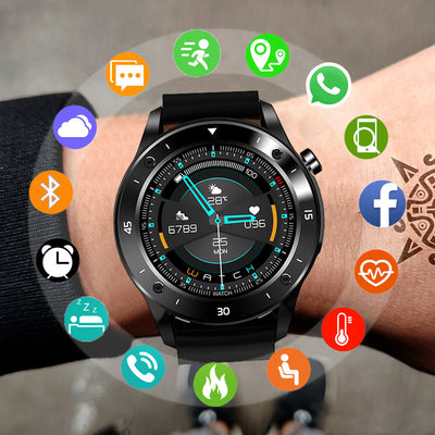 Electronics Smart Clock For Android IOS Bluetooth Fitness Tracker