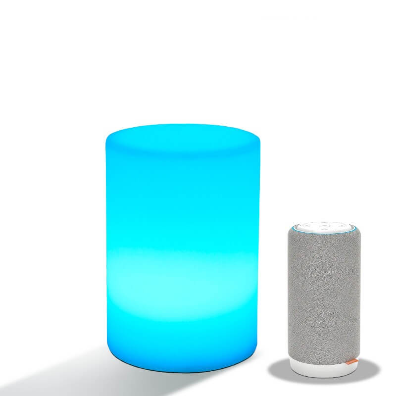 Cylinder Voice Control Smart Night Light
