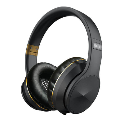 Foldable-Wireless-Bluetooth-Headset-EL-B4-Black