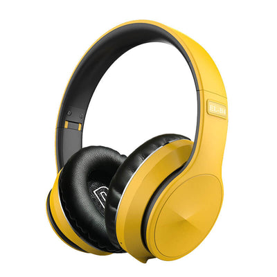 Foldable-Wireless-Bluetooth-Headset-EL-B4-Yellow