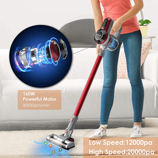 Hosome-Cordless Vacuum Cleaner-Pet Hair-Cleaners for Floor Carpet