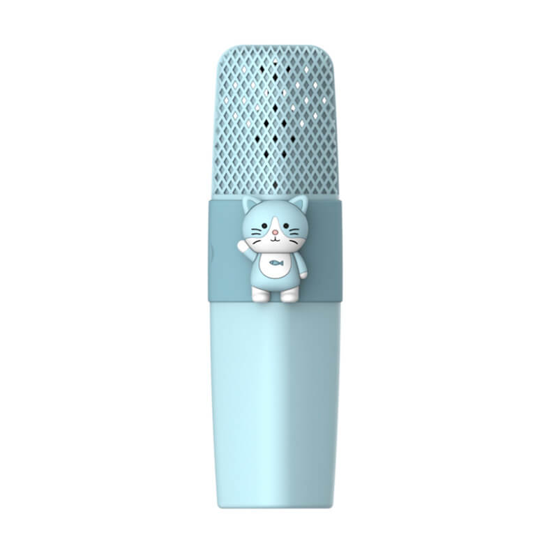 Kids-Karaoke-Microphone-K9-Blue-Cat