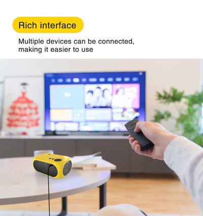 WiFi Portable Projector Compatible