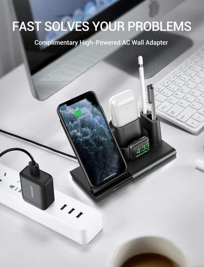 4 in 1 Charging Stand Wireless Charger