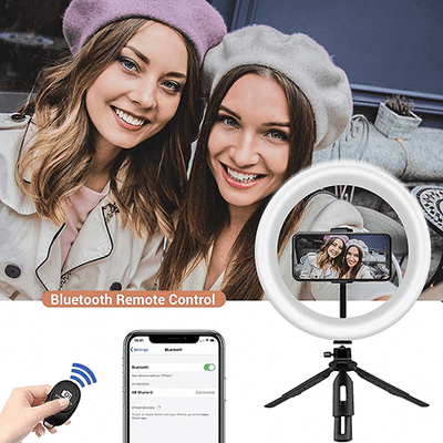 Selfie Ring Light with Tripod Stand