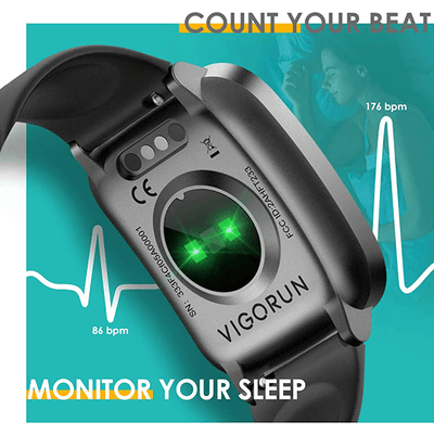 Vigorun Smart Watch Fitness Tracker