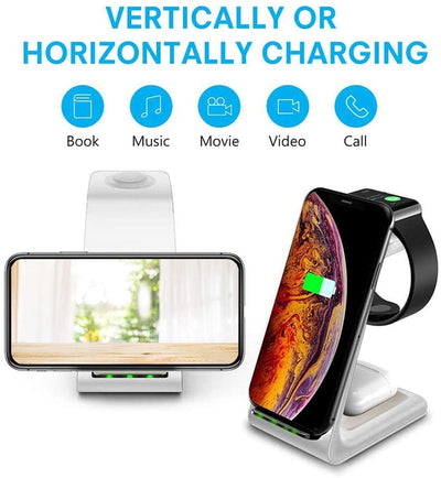 3 in 1 Charging Stand Wireless Charger