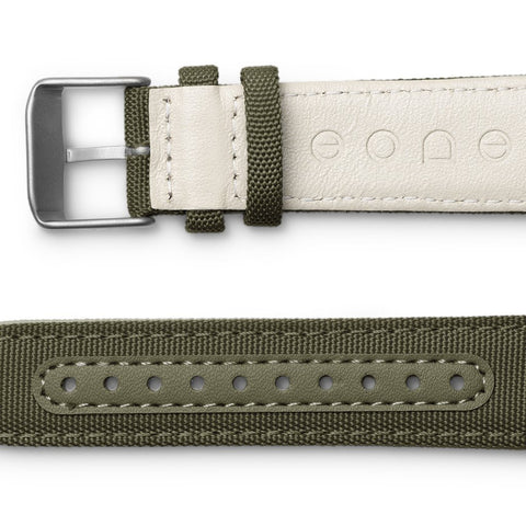 Canvas Strap / Olive side view
