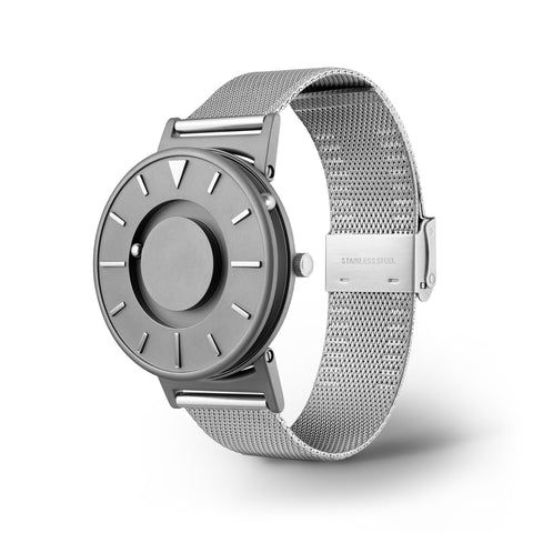 Bradley Mesh Silver side view