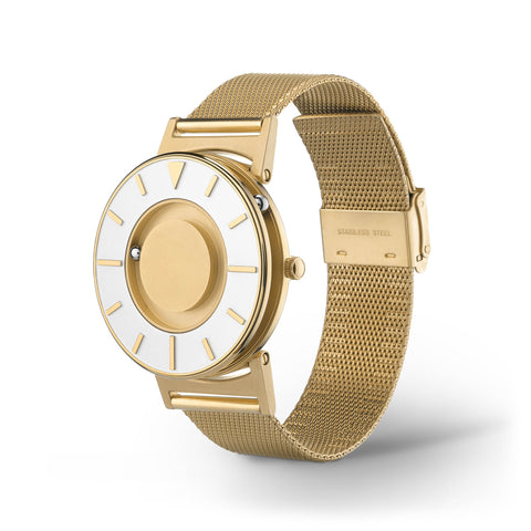 Bradley Mesh Gold side view