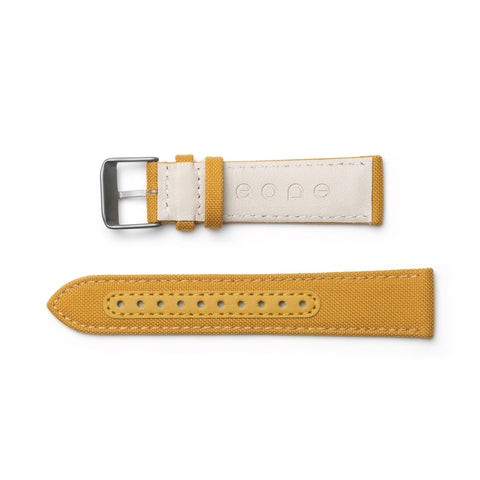 Canvas Strap / Mustard side view