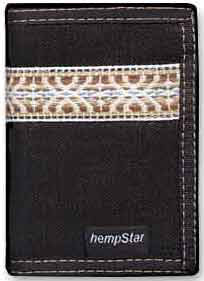 Hempstar Men's Vegan Wallet (serpent black)