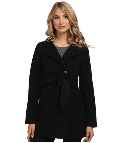 BB Dakota Salinger Coat (black) Eco-friendly Vegan