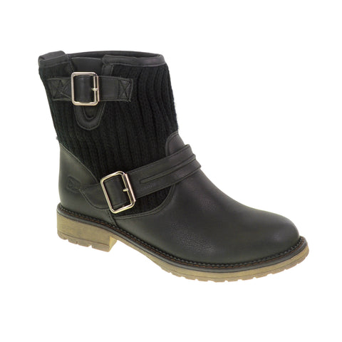 Dirty Laundry - Roger That - Vegan Burnis Boots - wild west black