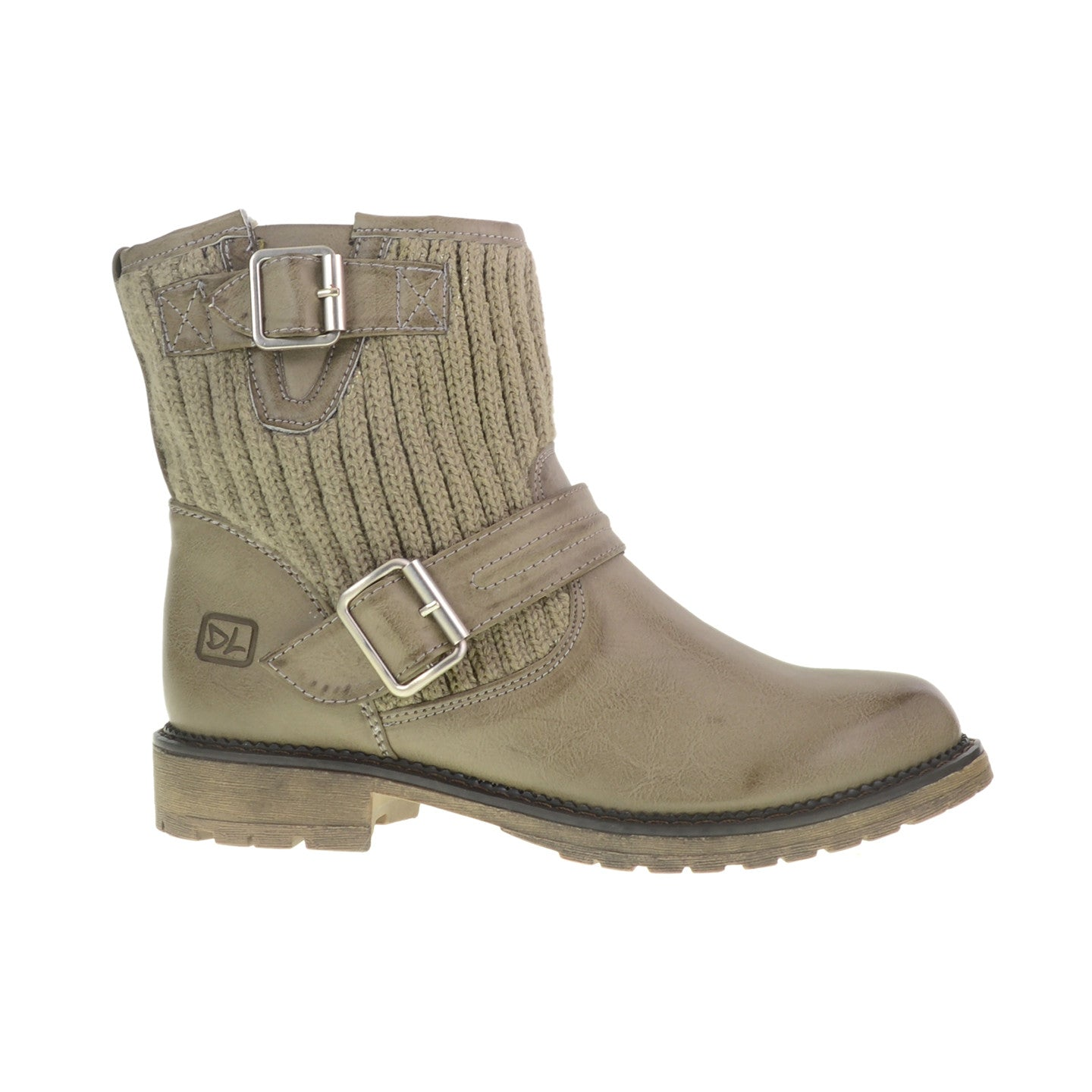 Dirty Laundry - Roger That - Vegan Burnis Boots - showdown grey