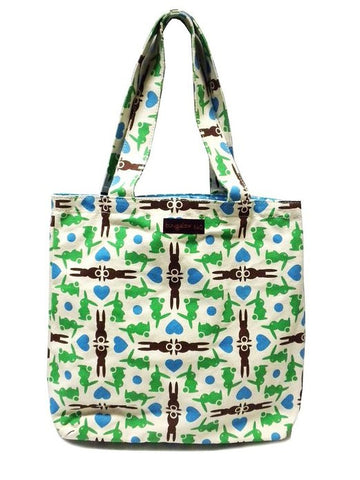 Bungalow360 Reversible Vegan Tote Bag (Bunny)