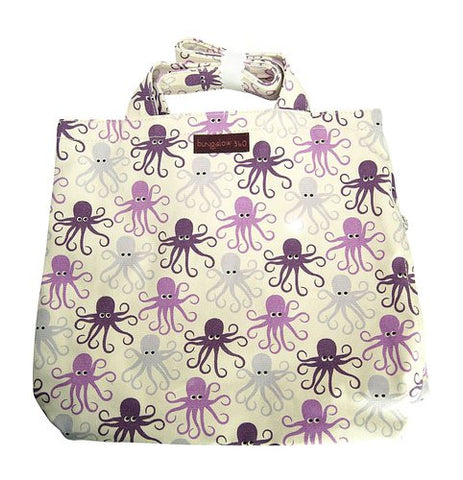 Bungalow360 Reversible Vegan Tote Bag (Octopus)