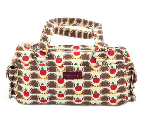 Bungalow360 Hedgehog Satchel Purse Vegan Cotton Hand Bag