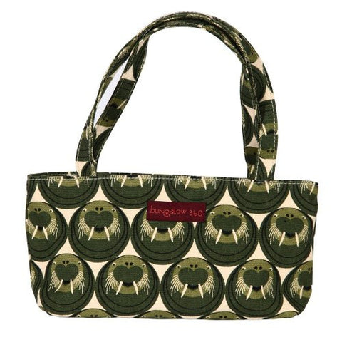 Bungalow360 Mini Vegan Cotton Bag (Walrus)