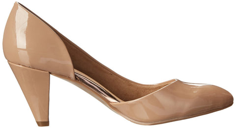CL BY CHINESE LAUNDRY Angelina Vegan Patent Dress Pumps. New Nude. Size 9