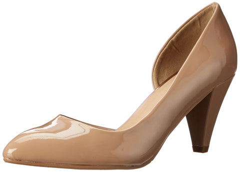 CL BY CHINESE LAUNDRY Angelina Vegan Patent Dress Pumps. New Nude. Size 8.5
