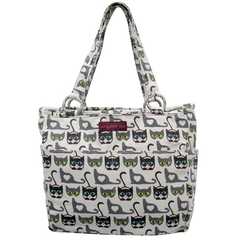 Bungalow360 Canvas Vegan Pocket Bag (cat)