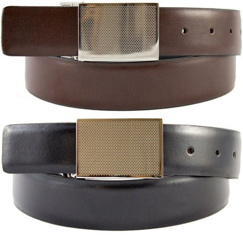 The Vegan Collection - Franklin - Reversible Vegan Belt (black/brown)