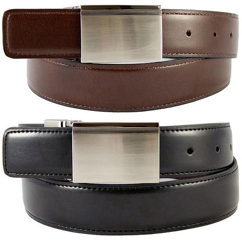 The Vegan Collection Alexander Reversible Belt (black/brown)