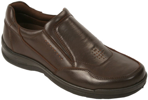 Deer Stags - Mens VEGAN Slip-On - 902 Bar (medium, dark brown)