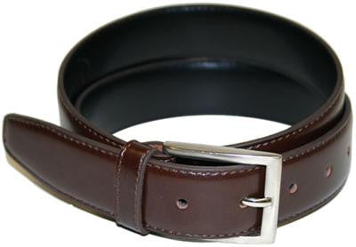 The Vegan Collection Captain Dress Belt (brown)