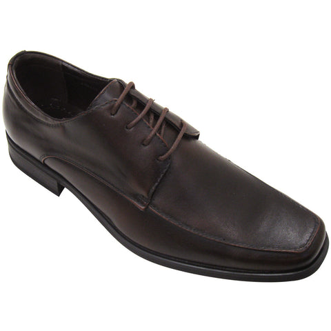Starsax David - Fabian 2 - Men's Vegan Oxford Dress Shoes (brown, size 7.5)