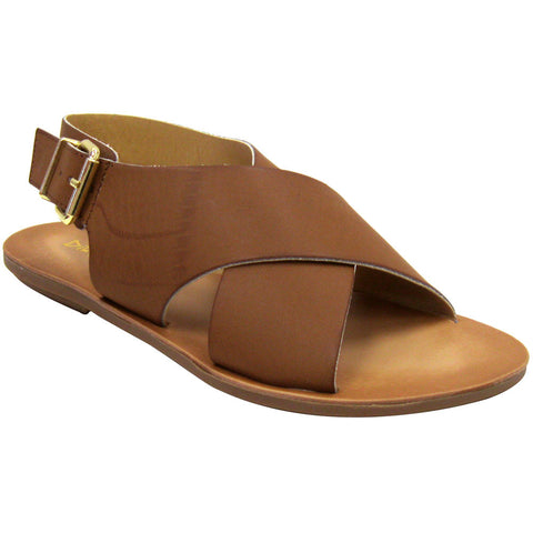 Dirty Laundry Beatbox Vegan Sandals (brown)