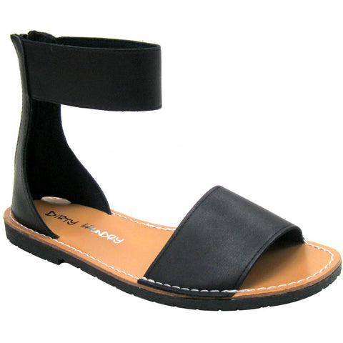 Dirty Laundry Excited Vegan Sandals (black)