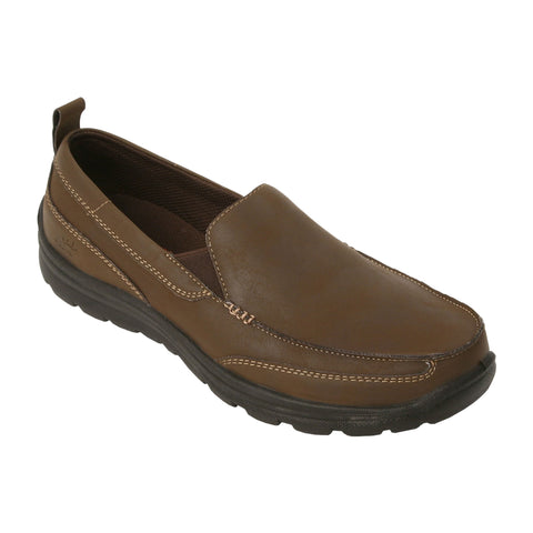 Deer Stags 902 Everest Casual Slip-On (medium, brown) 10 1/2 Med.
