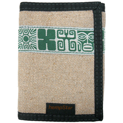 Hempstar Men's Vegan Wallet (mayan natural)
