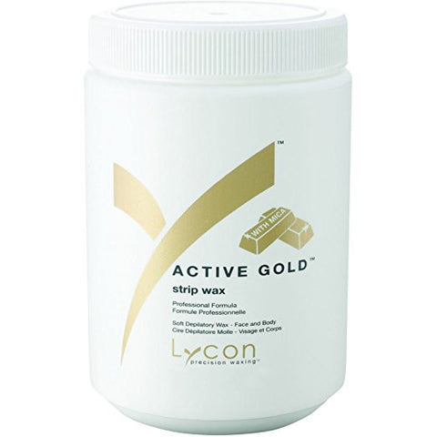 Lycon Active Gold Soft Strip Wax 27.05 oz PRO size