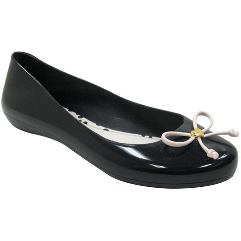 Mel Pop IV Vegan Flats (black-beige)