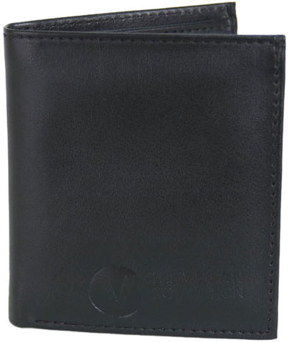 The Vegan Collection Men's National Bi-Fold Wallet (black)
