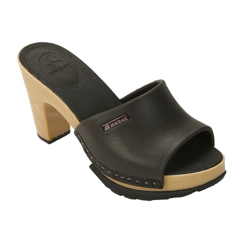 No Sox Polly Vegan Sandals (black)