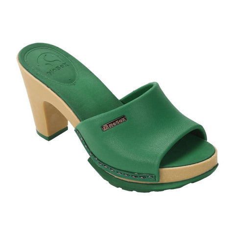 No Sox - VEGAN Sandals - Polly (emerald)
