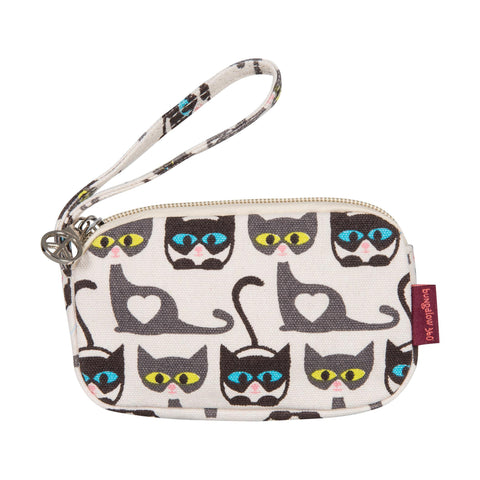 Bungalow360 VEGAN Clutch Purse (CAT) 81126-CT