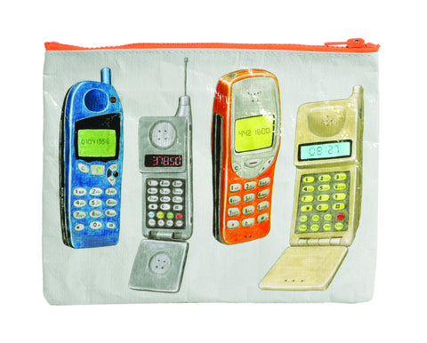 Blue Q Zipper Pouch (cell phone)