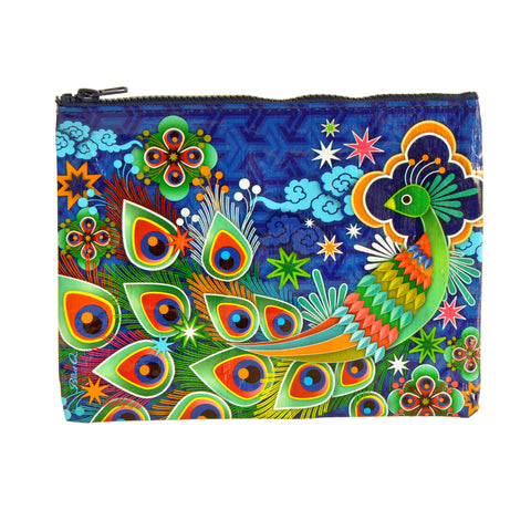 Blue Q VEGAN Zipper Pouch (peacock)