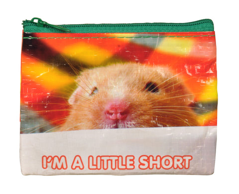 "Blue Q Vegan Coin Purse (""I'm A Little Short"")"