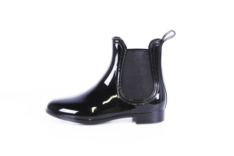 Report Footwear - Slicker - Vegan Rain Boots in Black