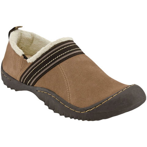 J-41 Stylus Faux Suede Vegan Slip On (taupe)