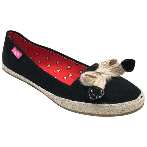 Sugar Shoes Daytona Vegan Flats (black)