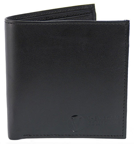 The Vegan Collection Traveler Bi-Fold Wallet (black)