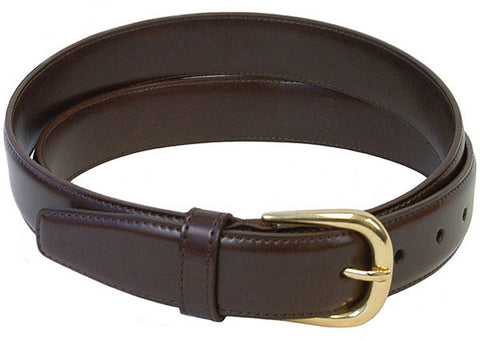 The Vegan Collection Garrison Dress Belt (brown)
